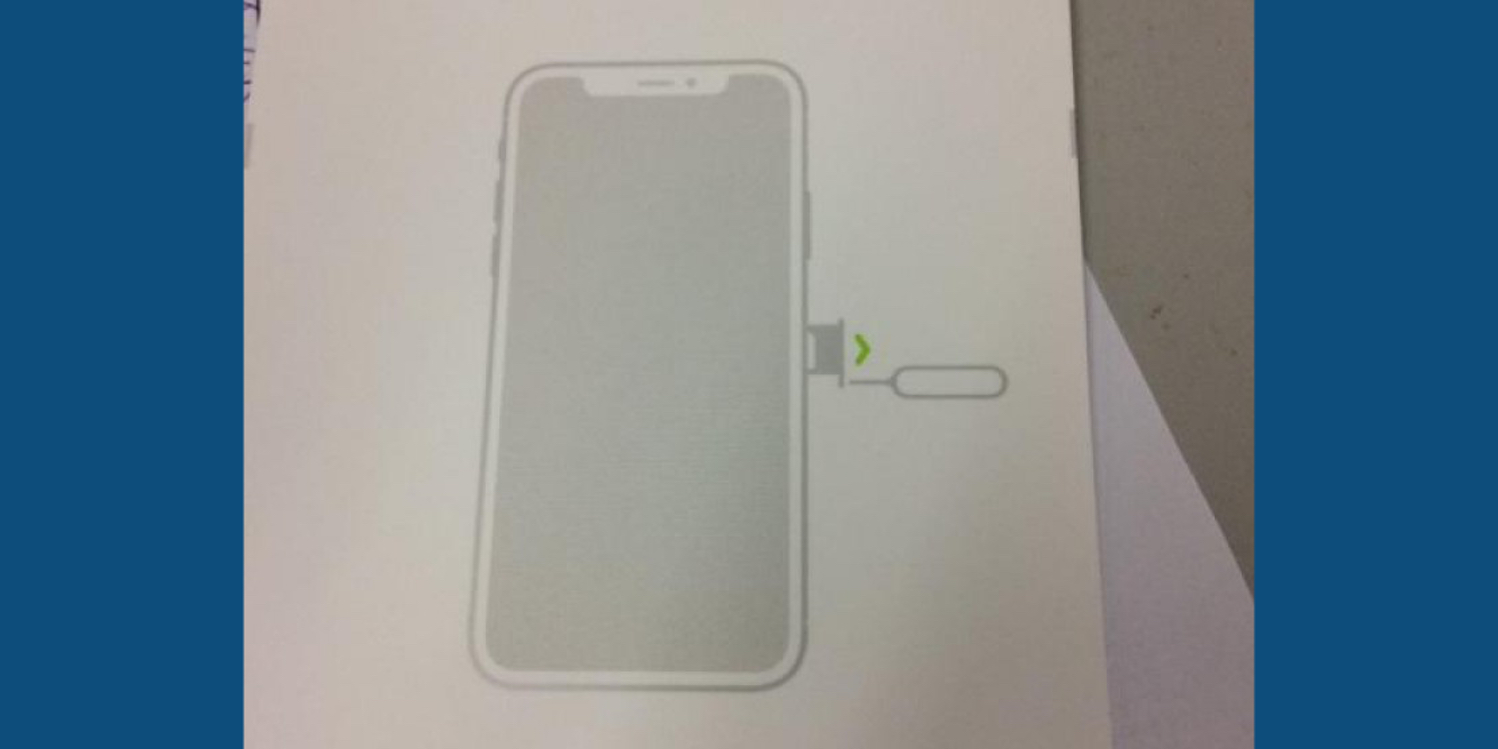 Iphone Design Diagram Trusted Schematics Of Parts Alleged 8 Packaging Insert Shows Off Bezel Less Notch 4s Breakdown