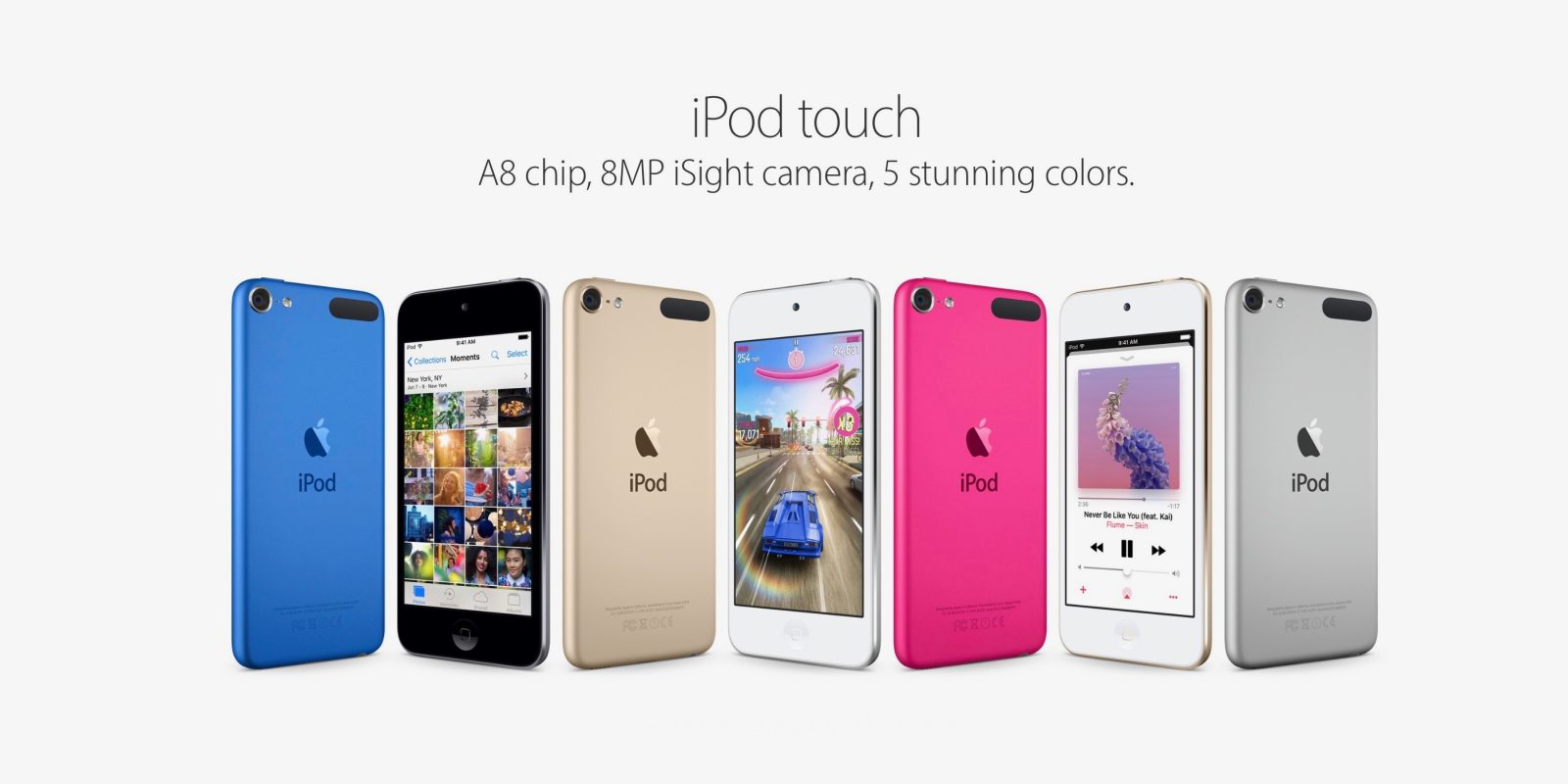 Ipod Touch Gets More Storage For Less As 32gb 128gb Become Sole Apple 6 16gb Blue Models