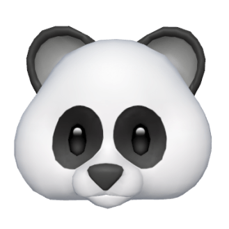 Panda Animoji