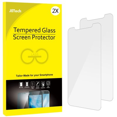 JETech 2-Pack iPhone X Tempered Glass Screen Protectors