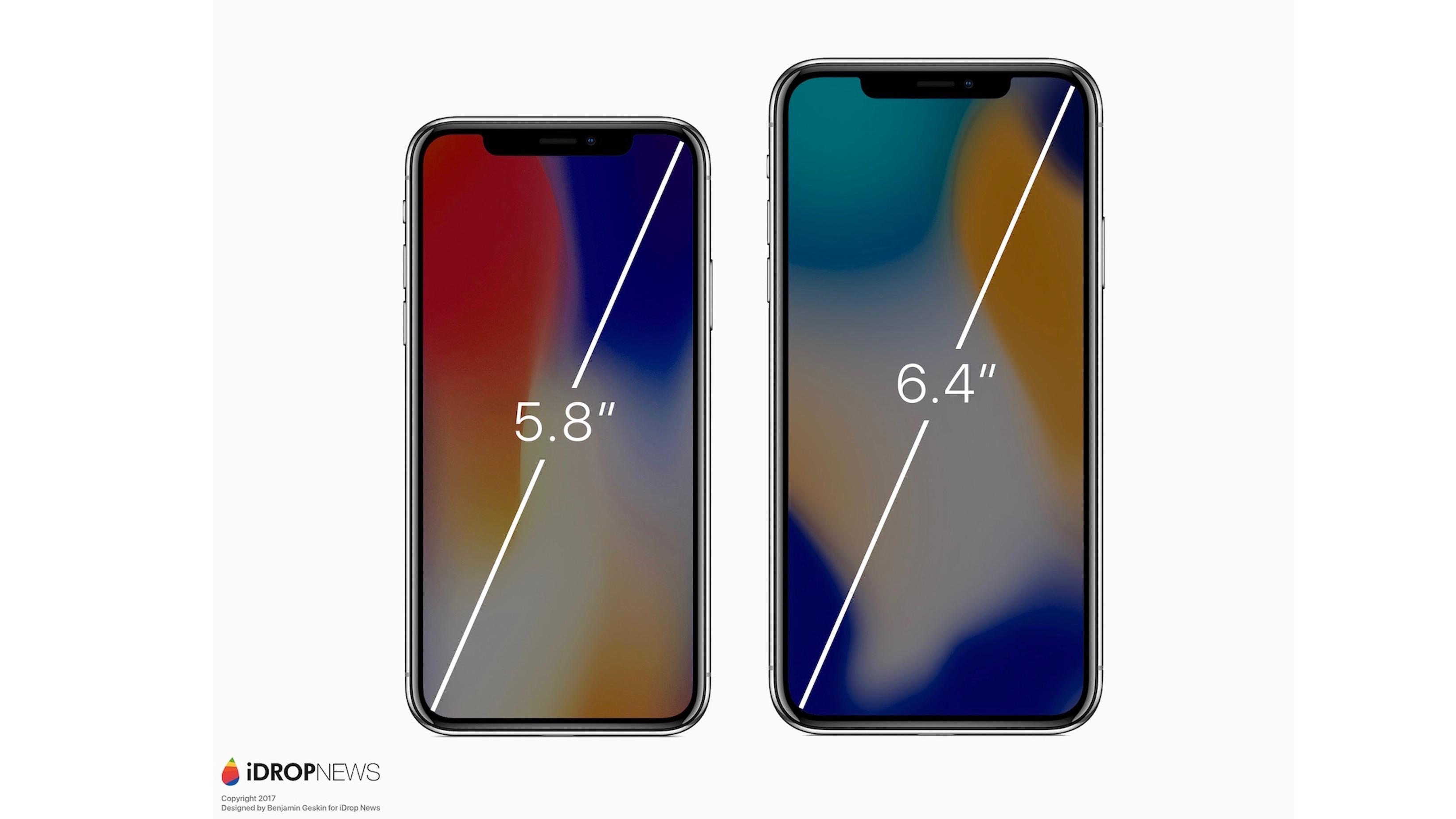 Renders imagine rumored 'iPhone X Plus' with 6.4-inch display [Gallery] - 9to5Mac