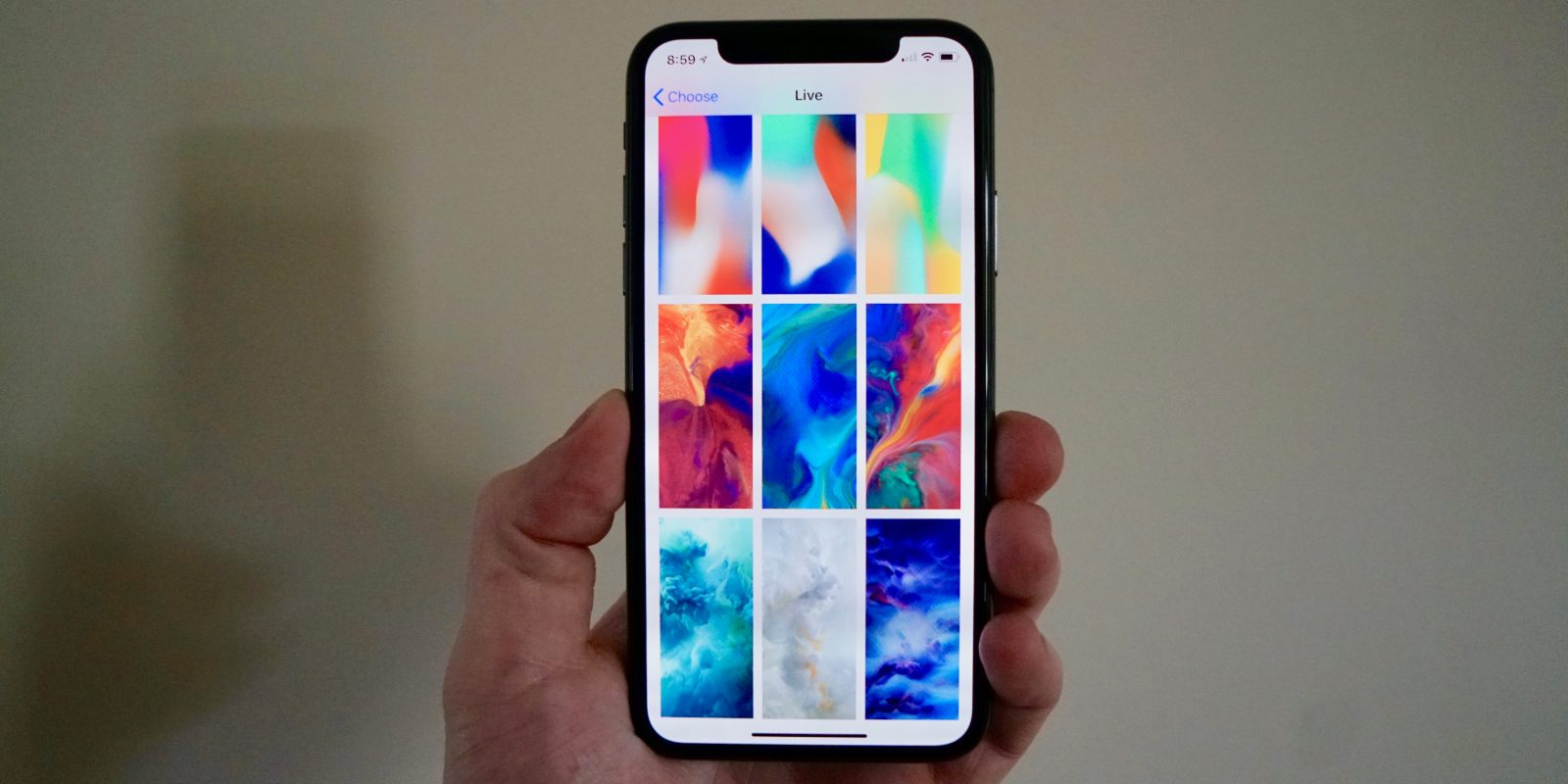 iphone x features new dynamic and new live wallpapers gallery
