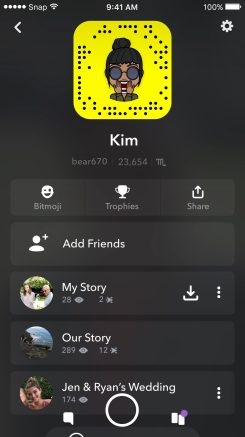 Snapchat Redesign 10