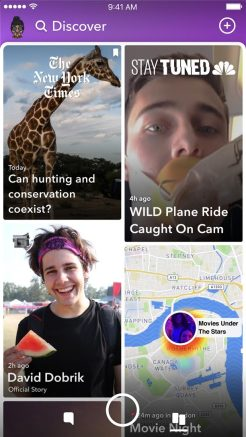 Snapchat Redesign 4