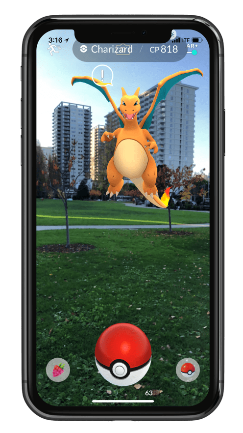 Pokemon GO ARKit 5