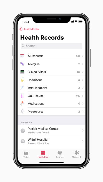 iPhone_X_All_Health_Records_screen_01232018