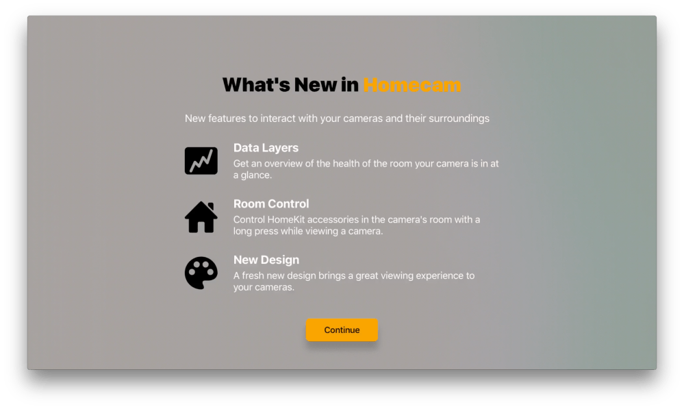 medium resolution of homecam app for homekit cameras gains powerful new controls video switching on apple tv