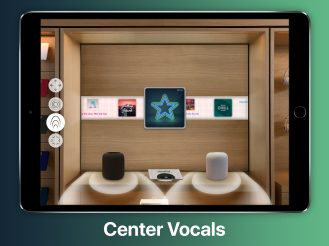 HomePod Center Vocals