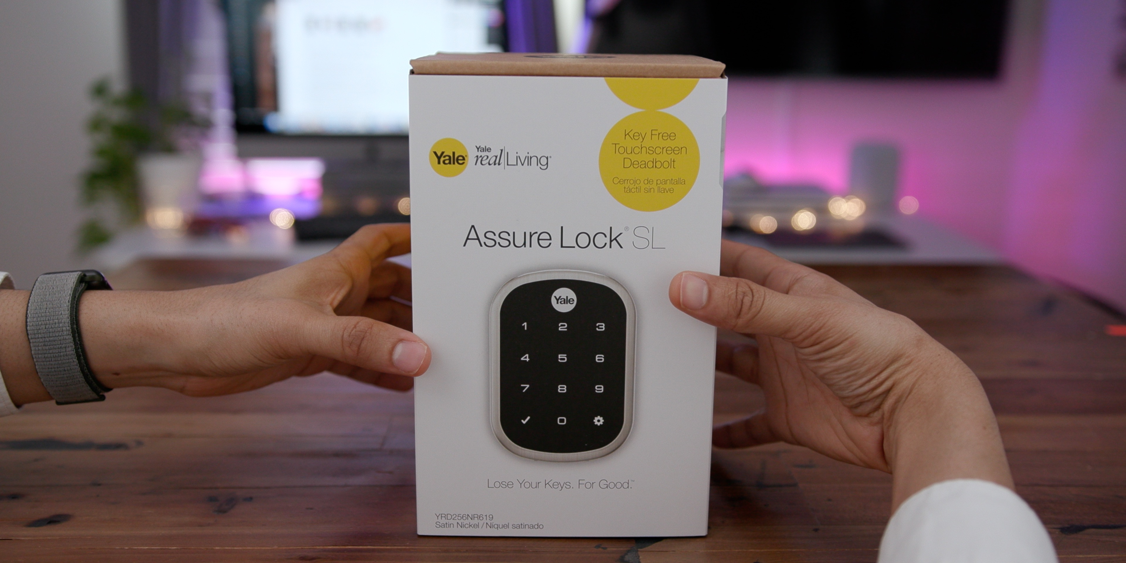 review yale s assure lock sl is an awesome homekit enabled smart lock with room to grow video  [ 3840 x 1920 Pixel ]