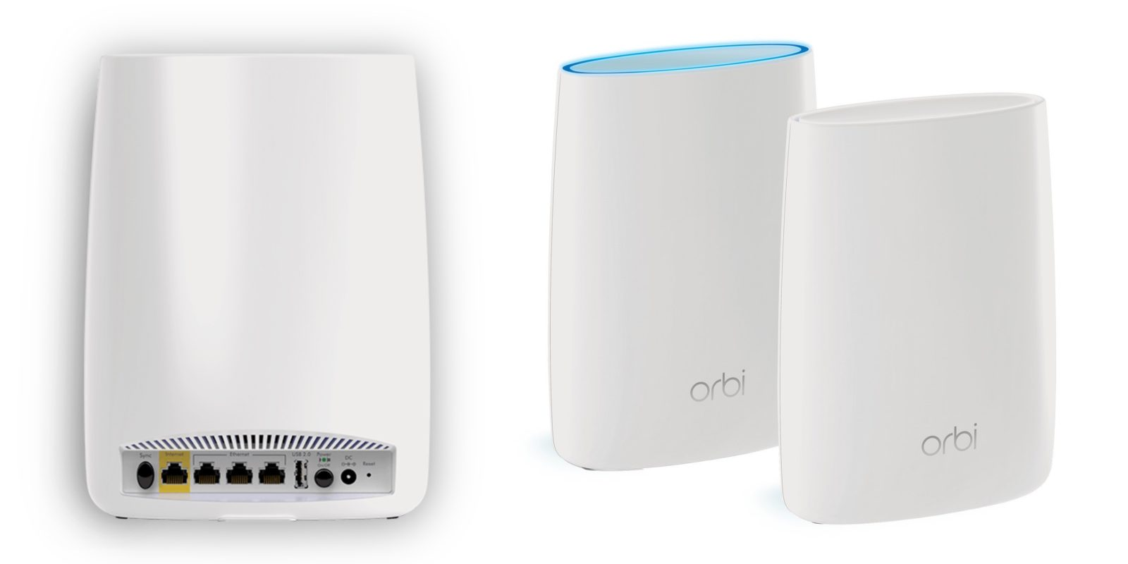 review netgear orbi mesh system blankets your home in fast wifi [ 1600 x 800 Pixel ]