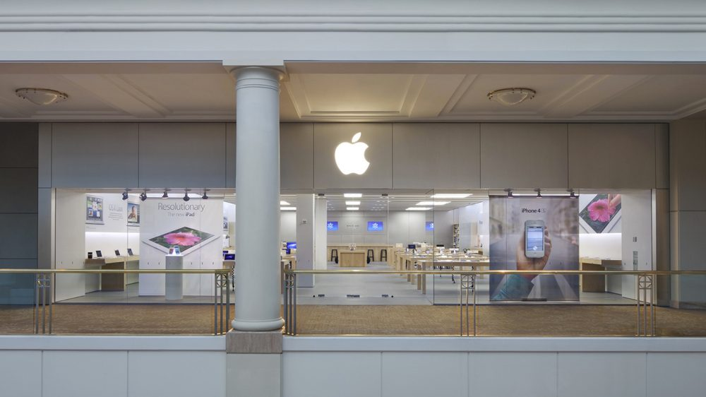 apple store in the westchester mall set