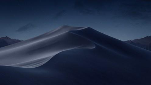 Mojave Night macOS wallpaper