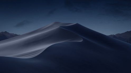 Mojave Night macOS wallpaper