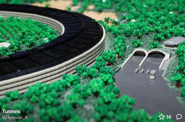 Apple Park LEGO