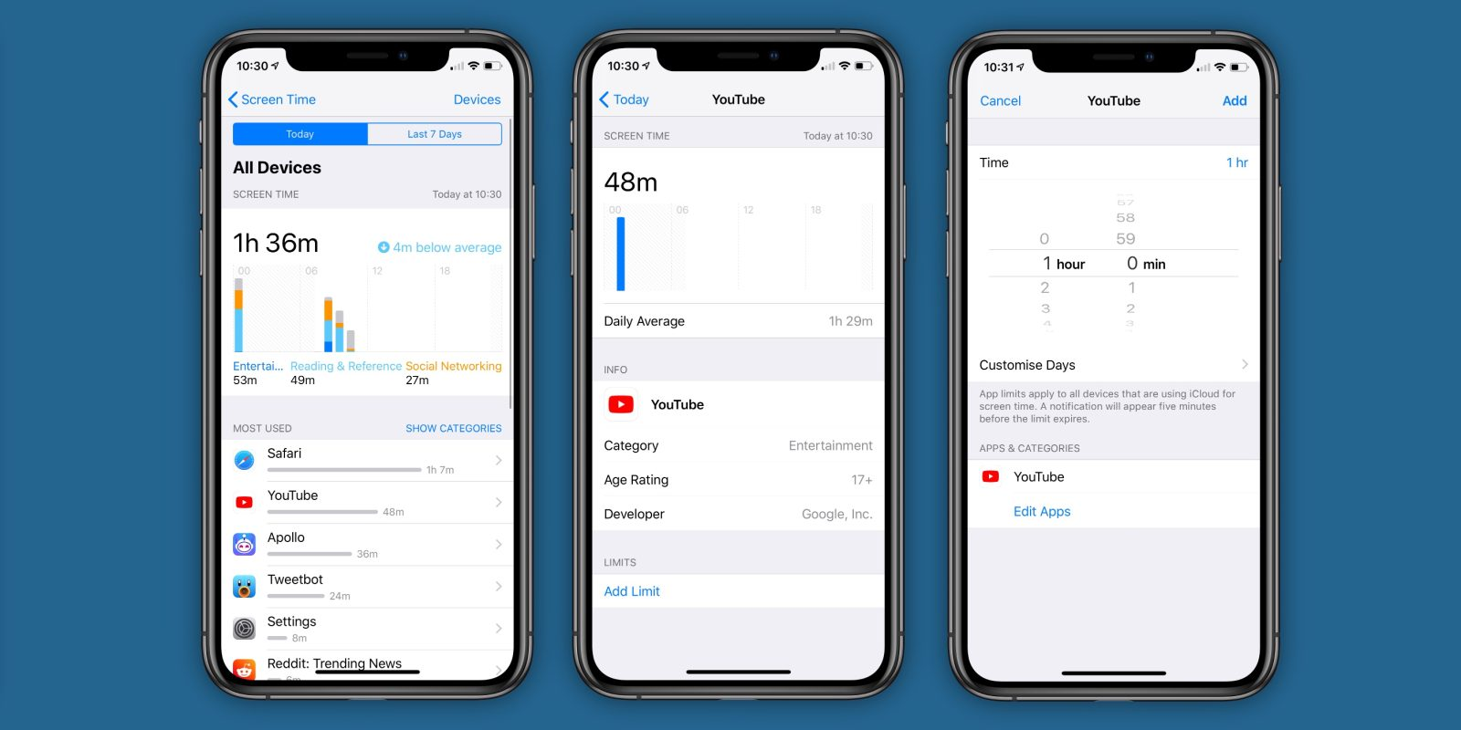 iphone time limit how to set a time limit for a specific app on ios 12 [ 1600 x 800 Pixel ]