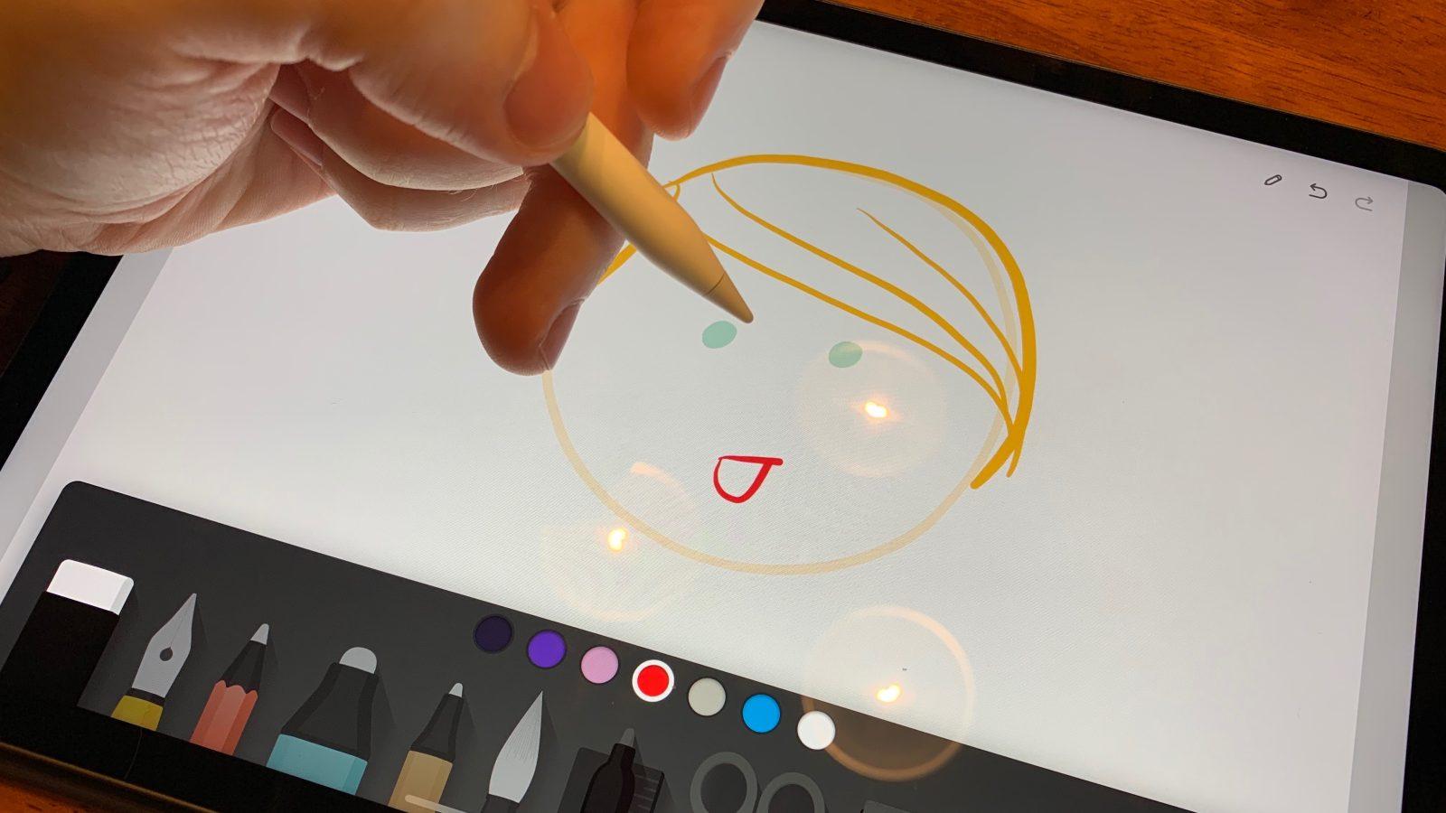 ipad sketching app paper