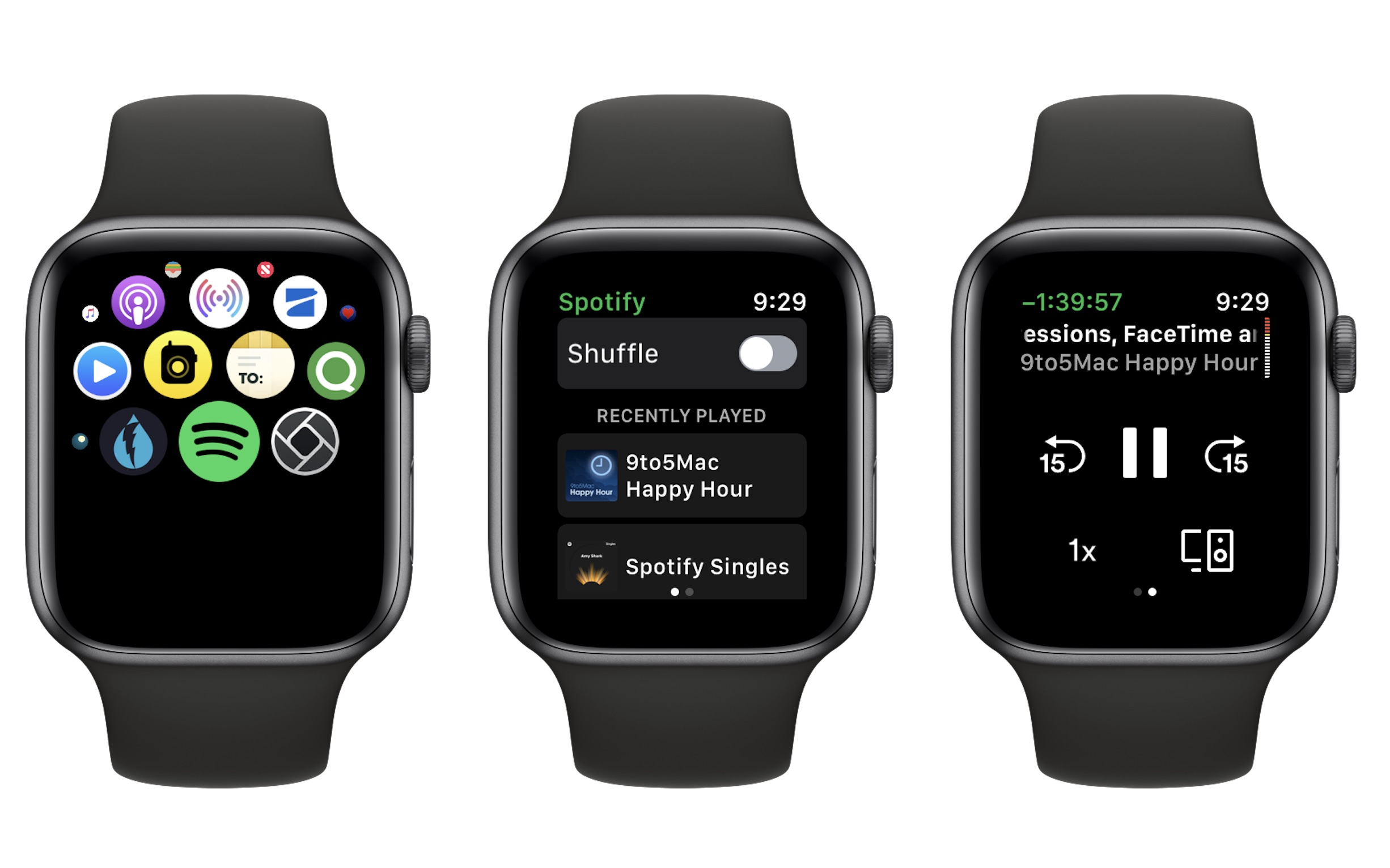 Spotify Apple Watch app