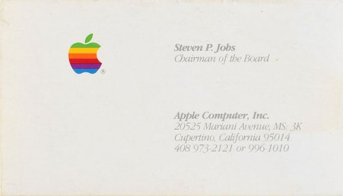 steve-jobs-business card