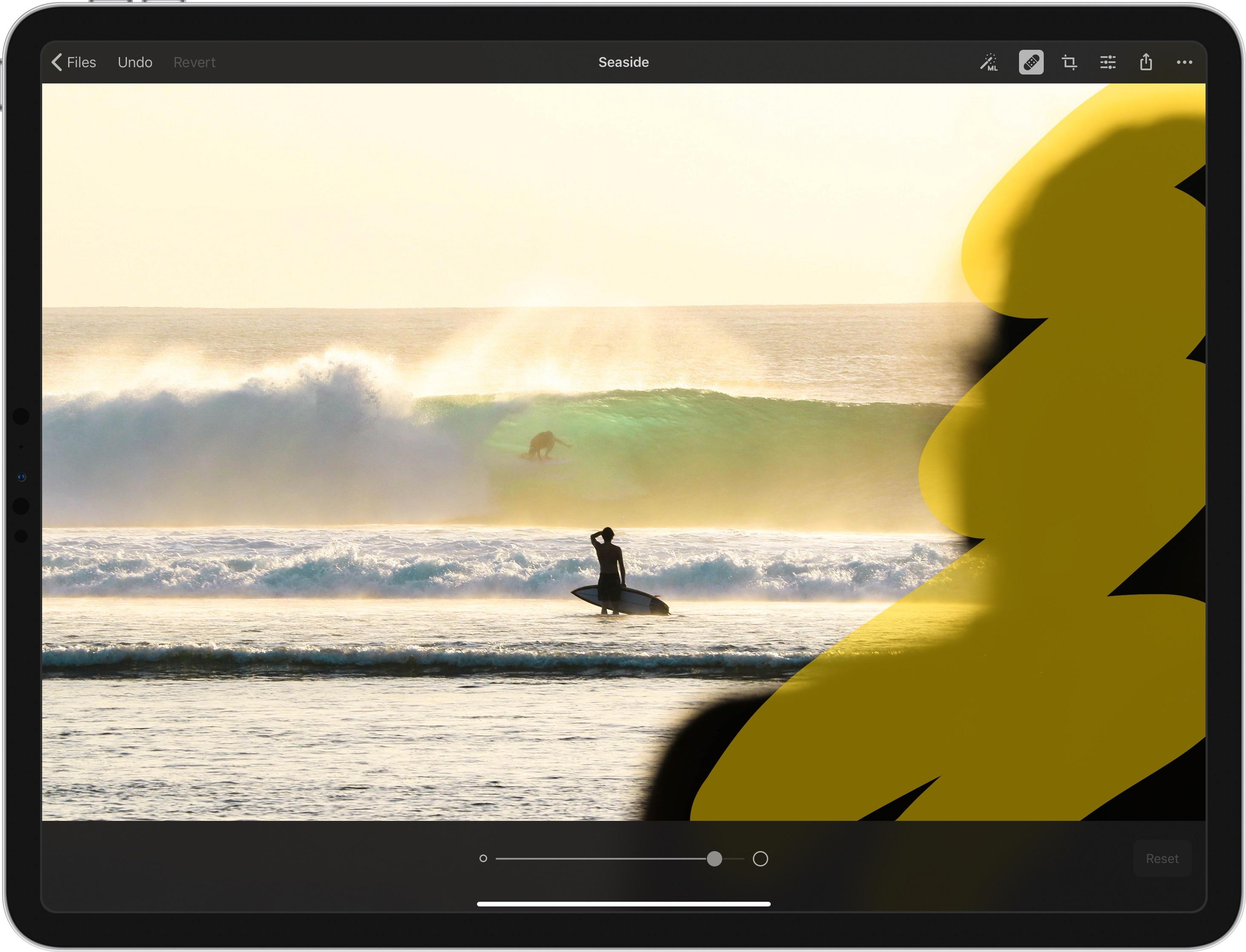 Pixelmator Photo — Repair Tool