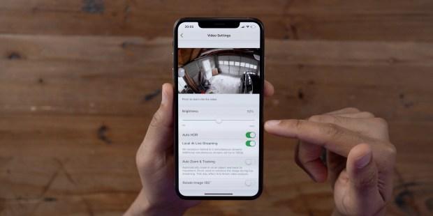 Arlo Ultra App Video Settings
