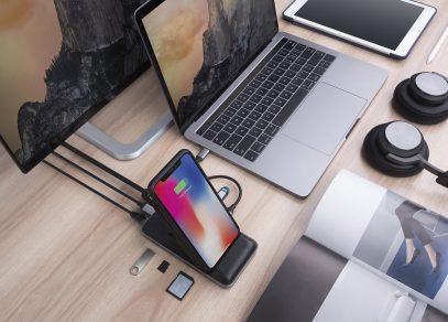 HyperDrive Wireless Charger USB-C Hub