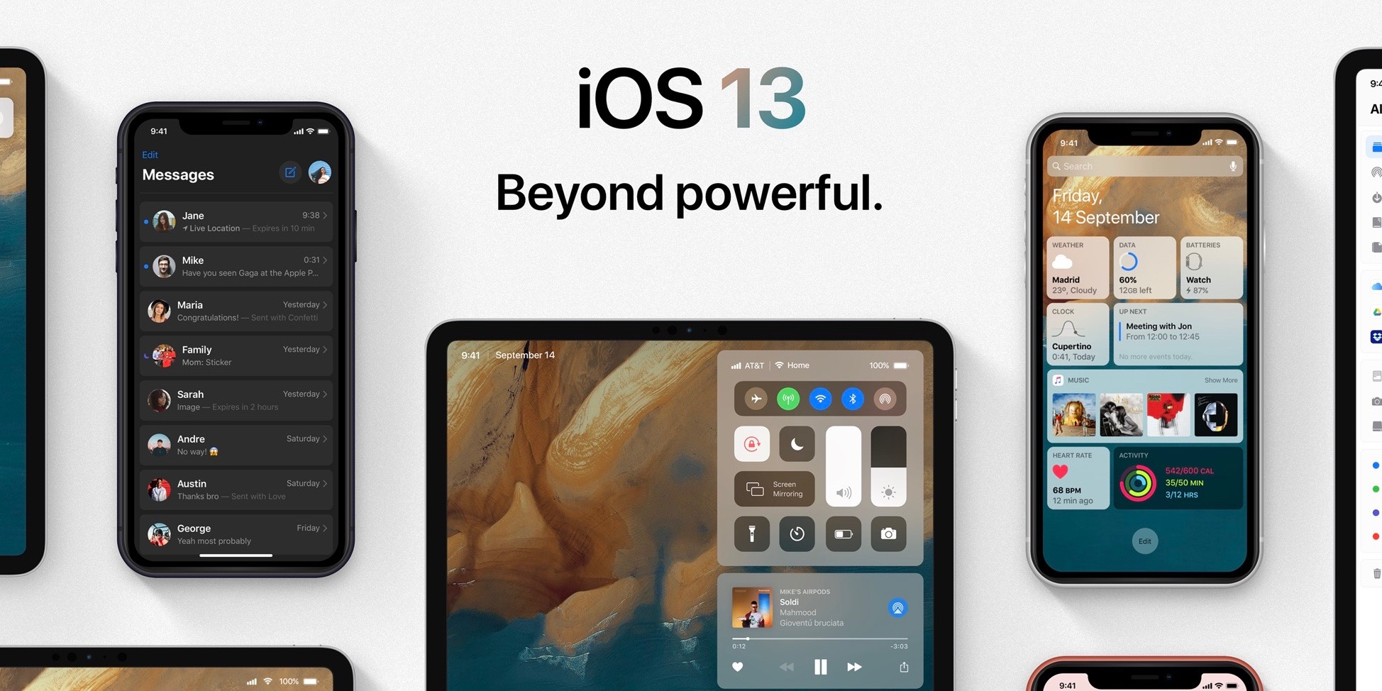 Ios 13 Concept Visualizes Many Of The Features Apple