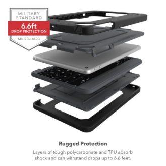 Rugged Book iPad mini 5 layers
