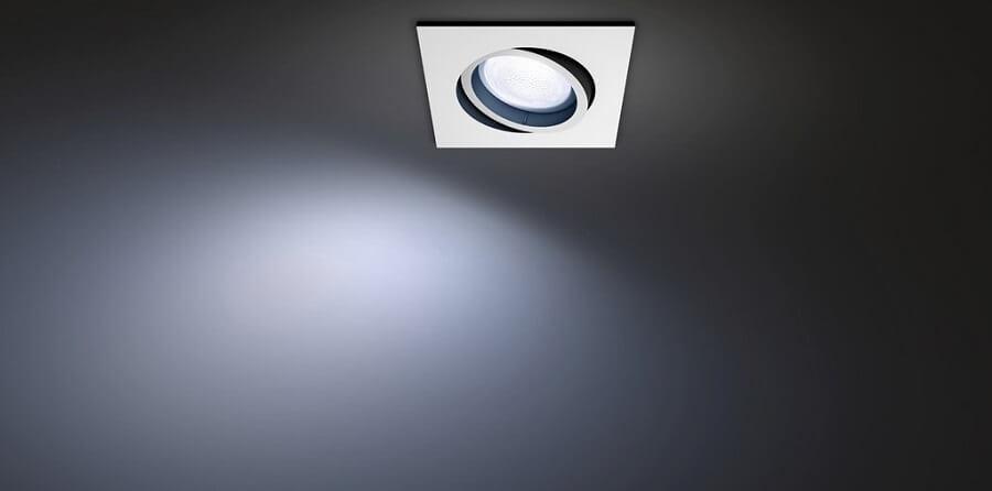 Philips-Hue-White-and-Color-Centura-Einbautspot-Eckig-in-der-Decke