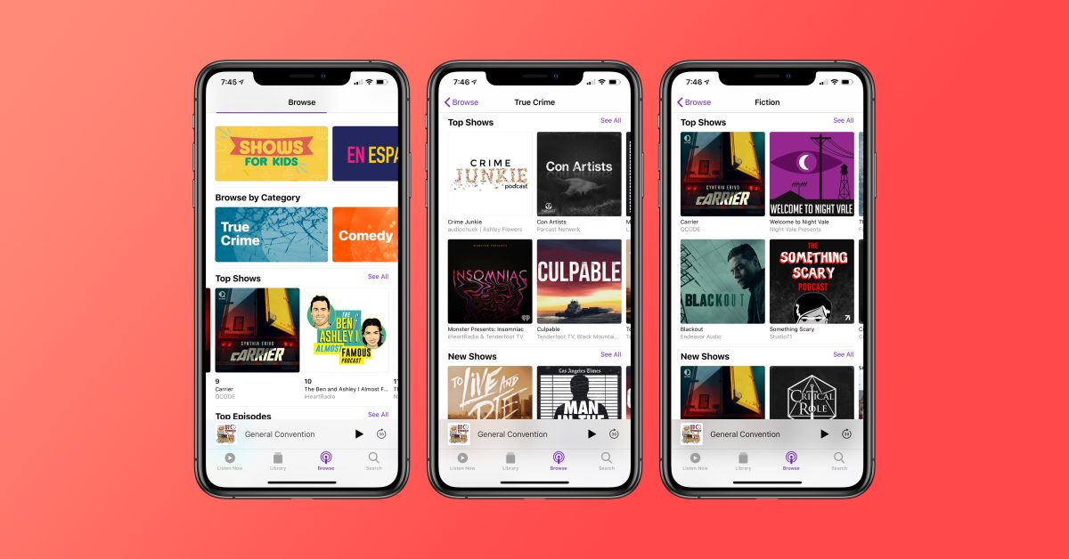 Report: Apple in talks with production companies to launch 'podcasting subscription service'
