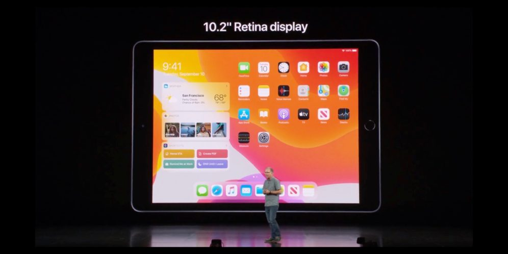 Apple unveils all-new seventh-generation 10 2-inch iPad