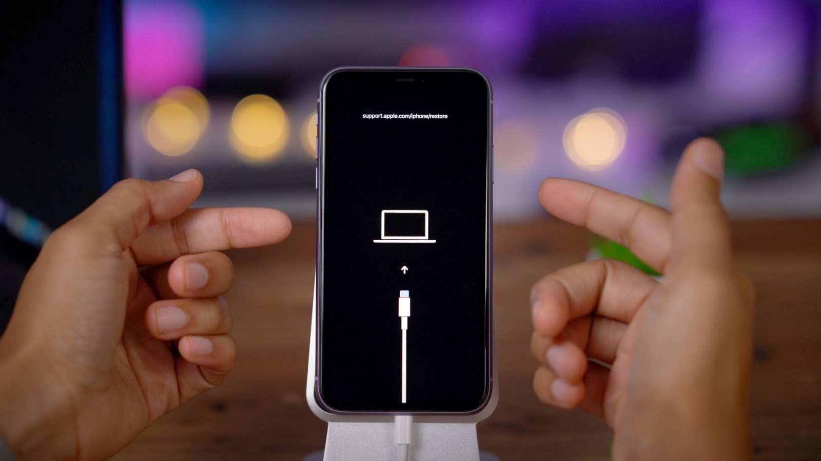 Force restart iPhone 11 Pro Max. DFU. recovery mode. SOS. power off