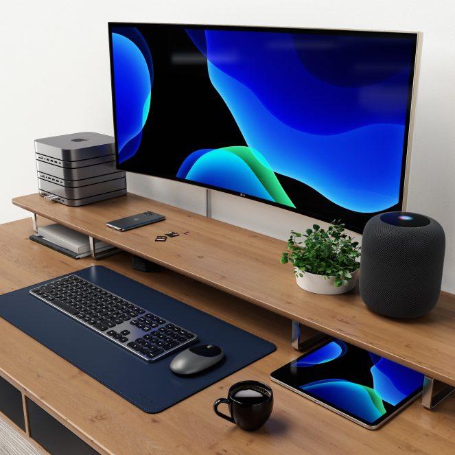 Satechi USB-C Mac mini Stand Hub triple stack