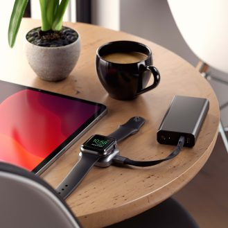 Satechi Apple Watch USB-C charger power bank