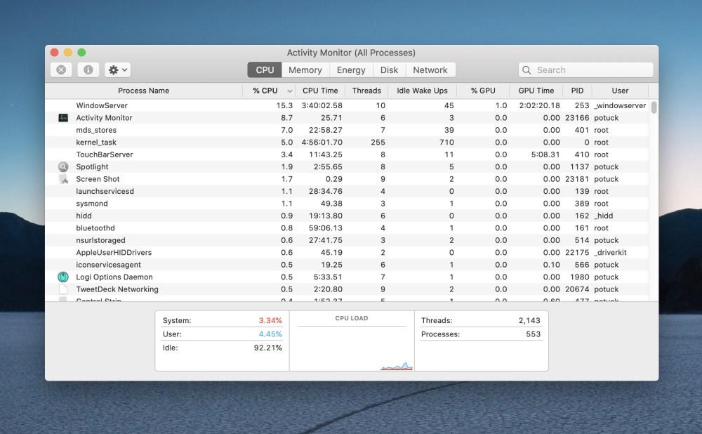Как заставить довольно Mac приложения панели меню прохождение 1