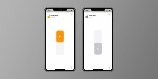 HomeKit smart locks