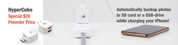 HyperCube iPhone USB backup charger