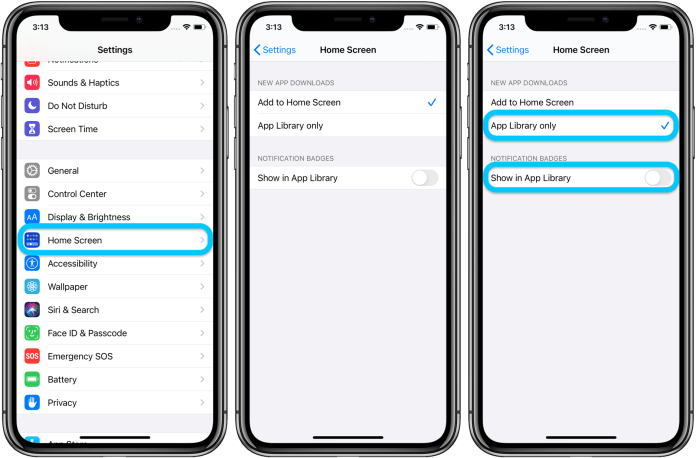 How to send new iPhone downloads to the App Library