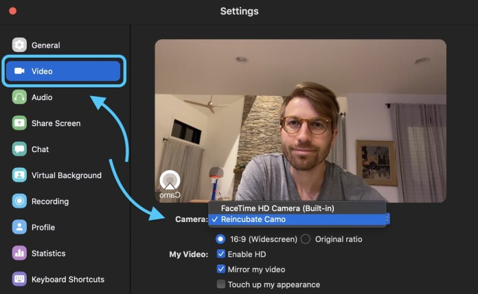 Reincubate Camo Replaces Your Potato Quality Mac Webcam With Your Iphone In Hd 9to5mac
