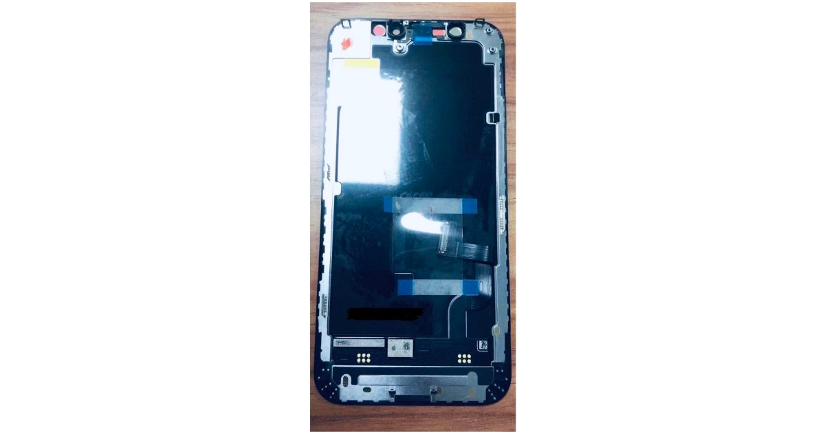 Alleged OLED display for upcoming iPhone 12 surfaces in leaked image - 9to5Mac