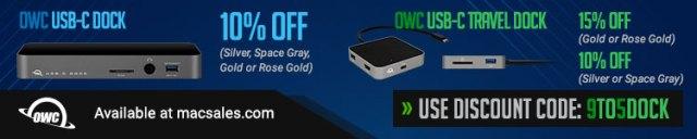 OWC USB-C Dock deal