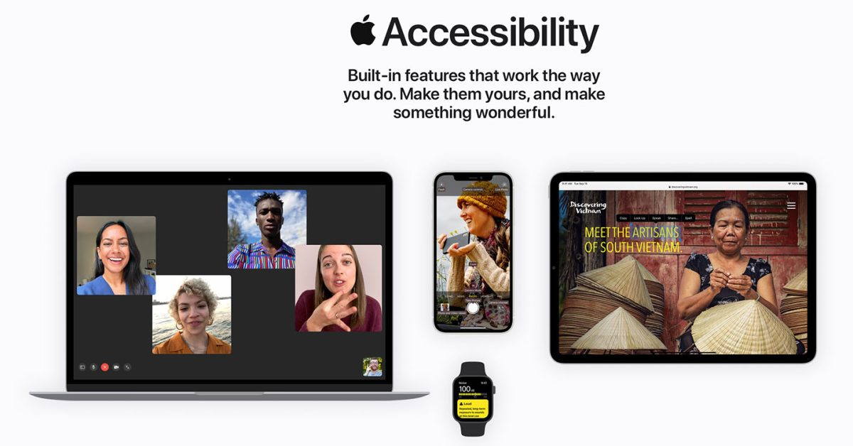 Apple Accessibility website revamp: 'Make something wonderful' - 9to5Mac