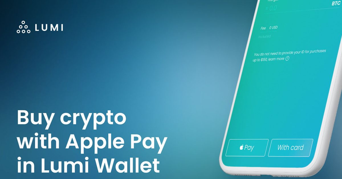 <bold>Buy</bold> Bitcoin with <bold>Apple</bold> Pay, thru Lumi Wallet app - 9to5Mac