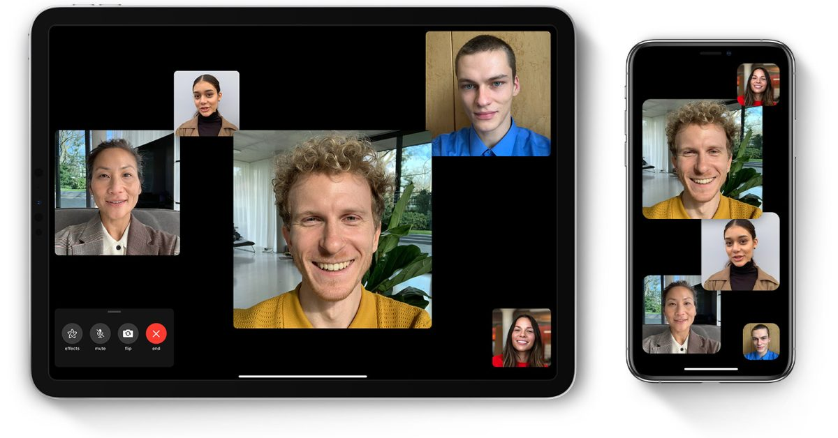 photo of Apple users set all-time record for FaceTime calls over the holidays image