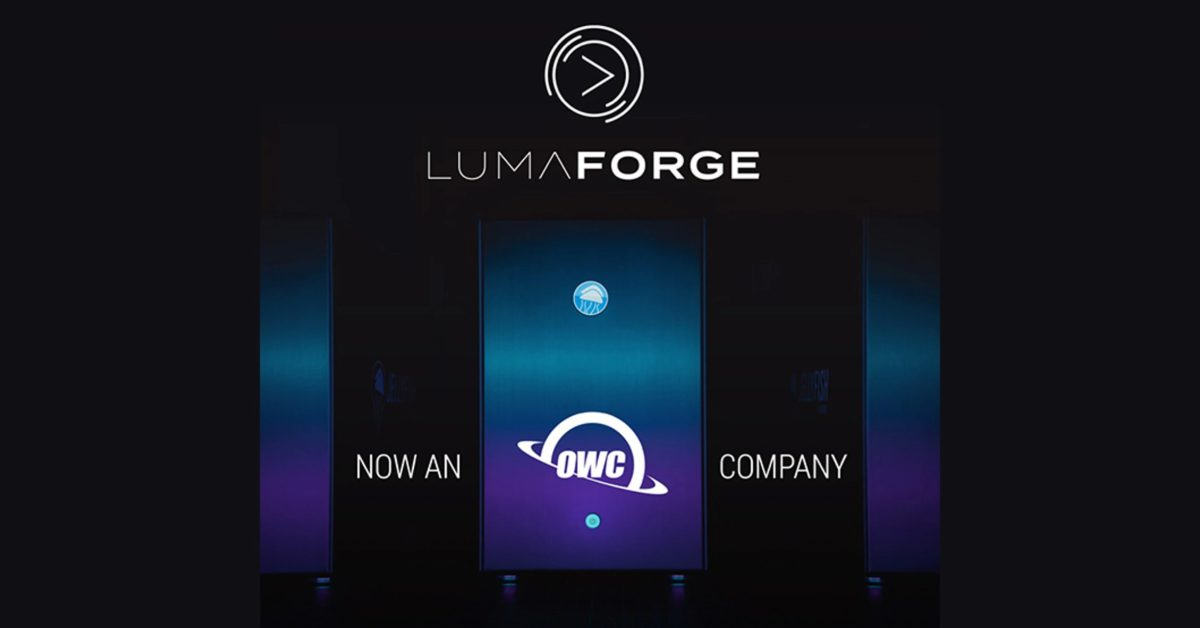 photo of OWC acquires LumaForge, makers of high-end Jellyfish storage for collaborative video workflows image