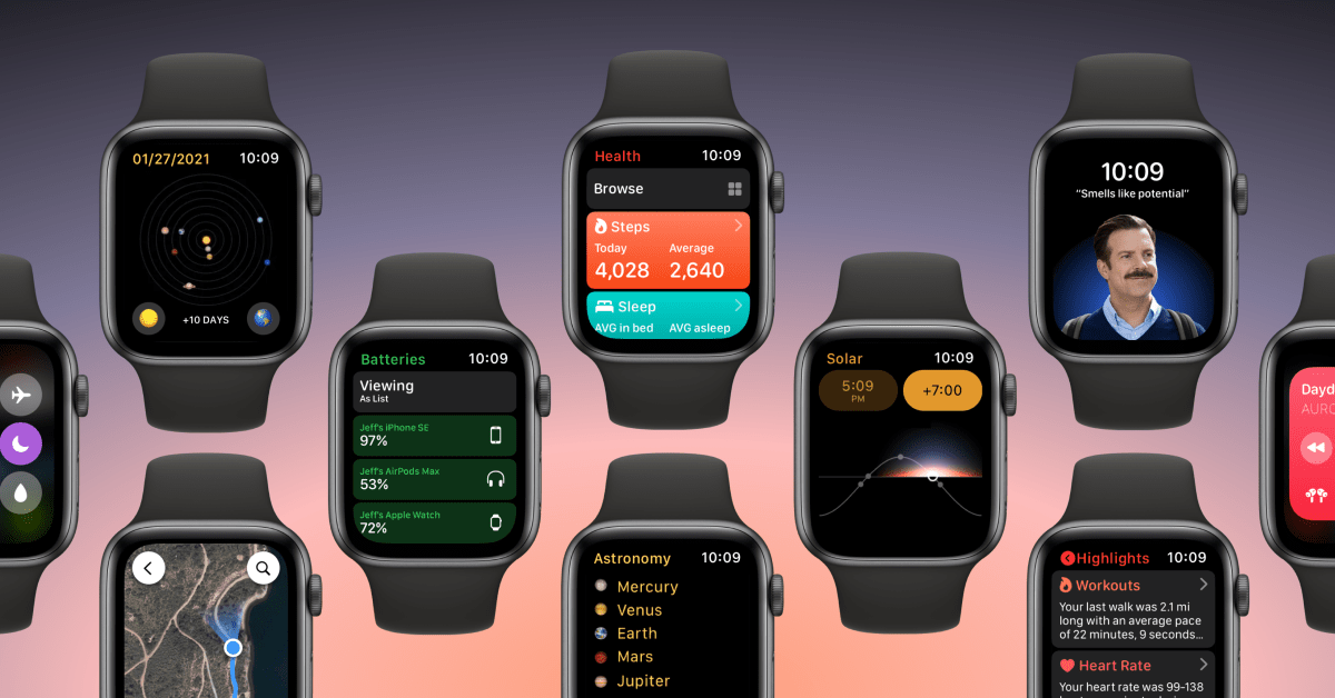 photo of Concept: watchOS 8 could introduce new apps, new faces, and widgets image