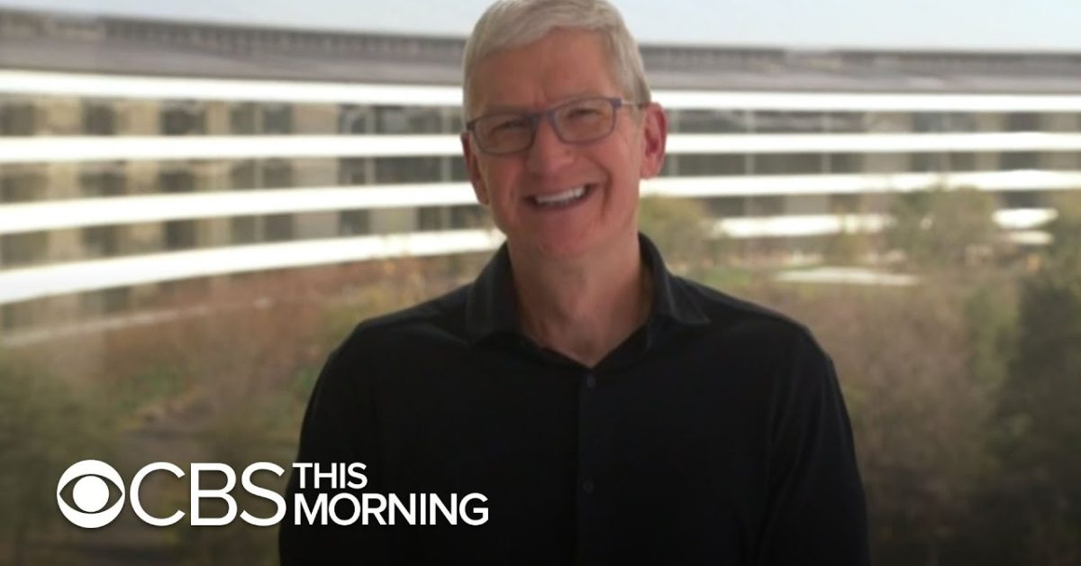 photo of CBS interview: Tim Cook talks REJI projects, Parler possibly returning to the App Store, goals for 2021 image