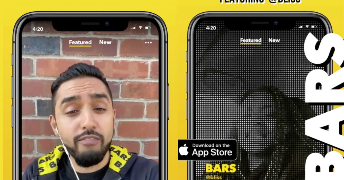 photo of 'BARS' is a new Facebook app for creating and sharing raps image