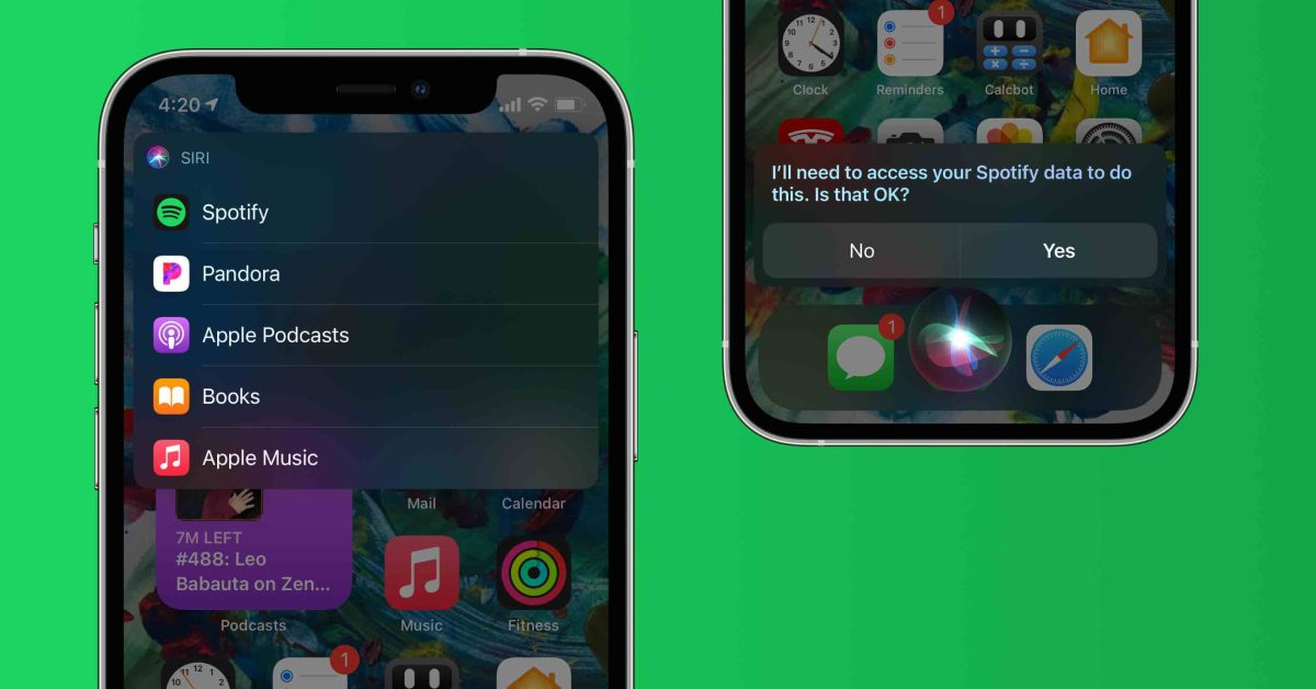 Apple doesn't want you to call nebulous Siri audio feature in iOS 14.5 'default music app' support - 9to5Mac