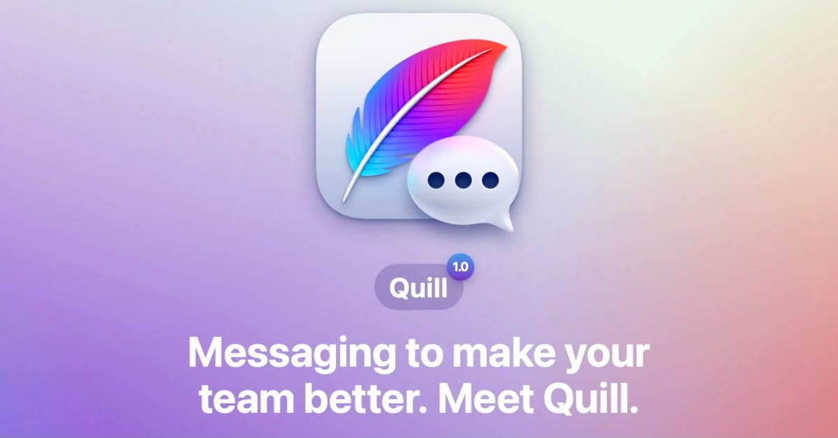 photo of Quill launches as a team messaging antithesis to Slack with native iPhone and Mac apps image