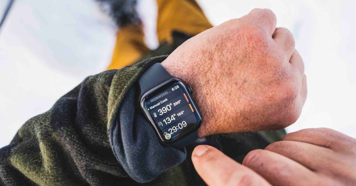 Apple Watch can now control your grill thanks to new Traeger feature - 9to5Mac